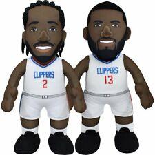"Los Angeles Clippers Dynamic Duo Bundle- Paul George and Kawhi Leonard 10"" Plush"