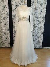 Ein wunderschönes, hochwertiges Braut- Hochzeitskleid in Größe 38.