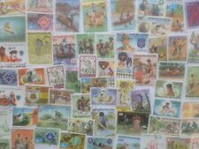 200 Different Scouts/Scouting on Stamps Collection