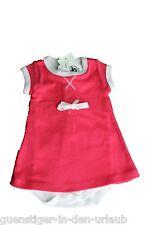 PETIT BATEAU süßes Mädchenkleid Babykleid mit Body 2 in 1 Größe 54 NEU