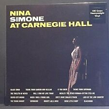 Nina Simone - At Carnagie Hall - NEW SEALED 180g 2 LP Complete concert 1963
