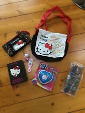 Hello Kitty Bundle Shoulder Flap Bag and pencil case Plus Extras