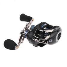 Saltwater Baitcasting Reel Right Hand Baitcaster 10+1BB Fishing Reels Black