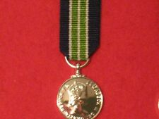 Miniature Colonial Fire Brigade LSGC Medal EIIR with ribbon in mint condition