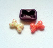 Silicone Mold 3D Minnie Mouse Bow (24mm) - Fondant Chocolate Candy Cupcake Mould