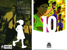 Last Sons of America 1 10 YEARS STELFREEZE 1:10 Variant & Issue 1 1st Print