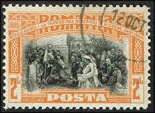 Scott # 185 - 1906 - ' Romanian Army Crossing Danube '
