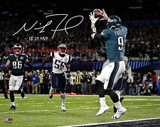Nick Foles Philadelphia Eagles SBLII CHAMPS Autographed 8x10 Photo (RP)
