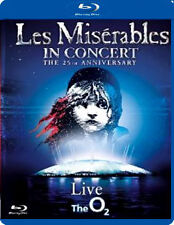 LES MISERABLES - IN CONCERT - 25TH ANNIVERSARY SHOW - BLU-RAY - REGION B UK