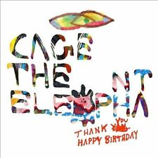 Thank You Happy Birthday [Digipak] by Cage the Elephant (CD, Jan-2011, Jive (USA))