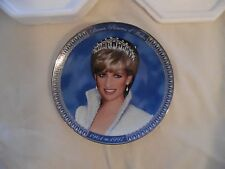 "PRINCESS DIANA Franklin Mint ""Princess of Wales"" Porcelain 8"" Plate Collector LE"