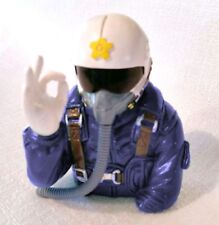 Pilot Jet Figure BLUE OK Hand style for 90mm and larger RC Jets/Airplanes