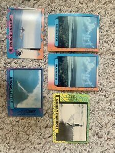 Vtg 1986 Surf Astroboyz Lot Of 43 Surf Cards-Excellent Condition