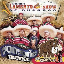 Banda Lamento Show: Ponzona Musical  Audio CD