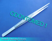 "THUMB DRESSING FORCEPS 10"" SERRATED TWEEZERS SURGICAL Instruments"