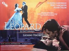 The Leopard - Original UK BFI Re-Release British Quad Poster 40 x 30 inches