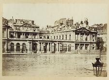 PHOTO VINTAGE COMMUNE 1871 : PALAIS ROYAL