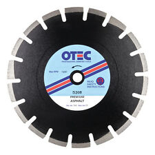 OTEC D20B Super Premium Asphalt / Tarmac Cutting Diamond Blade 300mm dia / 20mm