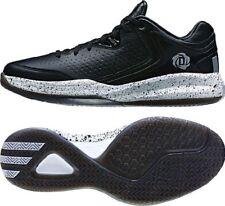 Adidas Men's D Rose Englewood Basketball Shoes Low Black/Metallic Silver