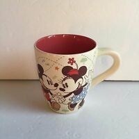 Disney Store Exclusive Mickey Minnie Mouse Pluto Dancing Coffee Mug Cup