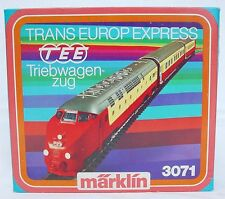 Marklin AC HO 1:87 Swiss SBB RAm TEE DIESEL MULTIPLE UNIT 3-Piece SET New! RARE!