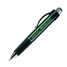 FABER-CASTELL Druckkugelschreiber GRIP PLUS BALL metallic-grün