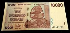 ! Zimbabwe. $10,000 banknote. 2008. UNCIRCULATED / MINT (Super rare $10000) US !