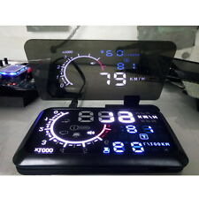 "Universa 6"" Screen Car HUD Head Up Display Projector Phone Navigation GPS Holder"