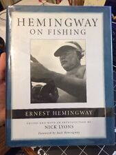 Ernest Hemingway On Fishing Edited By Nick Lyons Angling Short Stories Hcdj