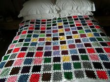 Hand Crochet Blanket/Throw - Multi Coloured