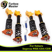Coilovers Suspension Spring Shock for Subaru Impreza WRX GDB GDA 02-07 Saab 9-2X