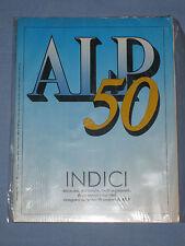 ALP - Vita e avventura in montagna INDICI 50 supplemento n°  7 Luglio 1989 (K1)