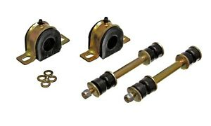 """82-04 S10 S15 Blazer Suspension Front Sway Bar Bushings w/ End Links 1 1/8"""" BLK"""