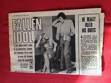 m2d ephemera 1972 short story fallen idol john stanley wilson