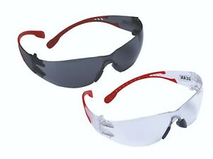 Scan UV Flexi Safety Specs Glasses Anti-Fog Coating (Twin Pack) - SCAPPEFSTWIN