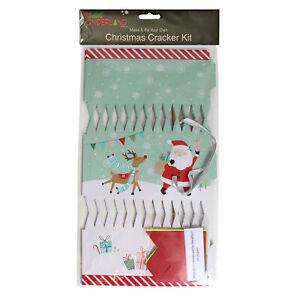 Widdle Wonderland DIY 6 Pack Make your Own Christmas Cracker Kit - Santa