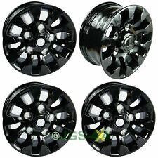 "Land Rover Defender Black SAWTOOTH Style Alloy Wheels 16""X7"" Set Of 4 - LR025862"