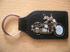 Schlüsselanhänger Honda Shadow Spirit schwarz black Motorrad Art 1070 Motorbike