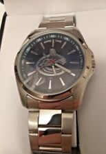 NHL GAME TIME VANCOUVER CANUCKS STAINLESS STEEL WATCH NEW