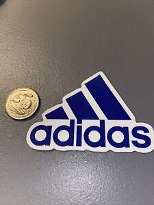 "Adidas Logo Skateboard Laptop Guitar Decal Sticker 3""x2"" Excellent Condition"