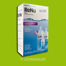 """"" Renu MPS sensitive Big Pack 2x360ml 1x60ml per la cura lenti bausch & lomb"""""