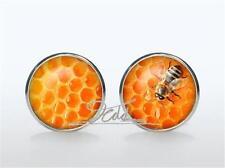 Glass Spherical Cufflinks for Men