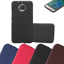 Coque Housse Silicone pour Motorola MOTO G5S PLUS Protection Case Mat Cover