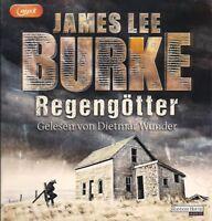James Lee Burke - Regengötter 2 MP3 CD Thriller Hörbuch CDs Dietmar Wunder