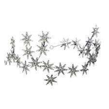 Jewelry Crystal Stars Chain Headband Wedding Prom Crown Tiara Hair Accessory HOT