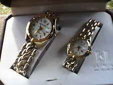 Calvin Hill Man & Woman Wrist Watch Set
