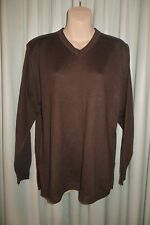 VINTAGE ~ Italian Made ~ Brown Tunic  JUMPER/TOP  * Size M  * 50% OFF !!