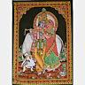 Wall Hanging Picture RADHA KRISHNA India 110 x 76 cm Thangka 34