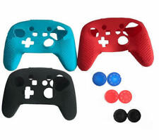 Silicone Rubber Soft Case Skin Cover Grip For For Nintendo Switch Pro Controller