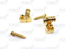 Guitar roller string retainer set of 2, gold HS008